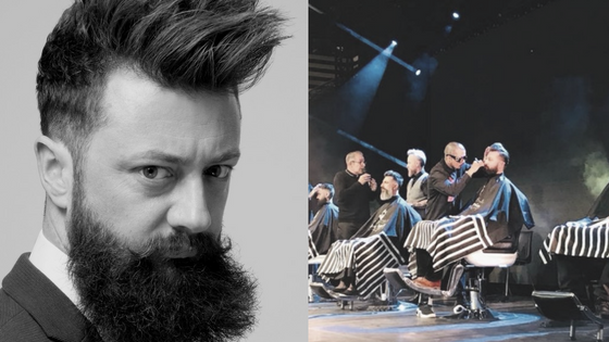 @n0opy's cover photo for 'Portrait de Pierre-Jean Decroze, modèle pour de grandes marques de Barbering'
