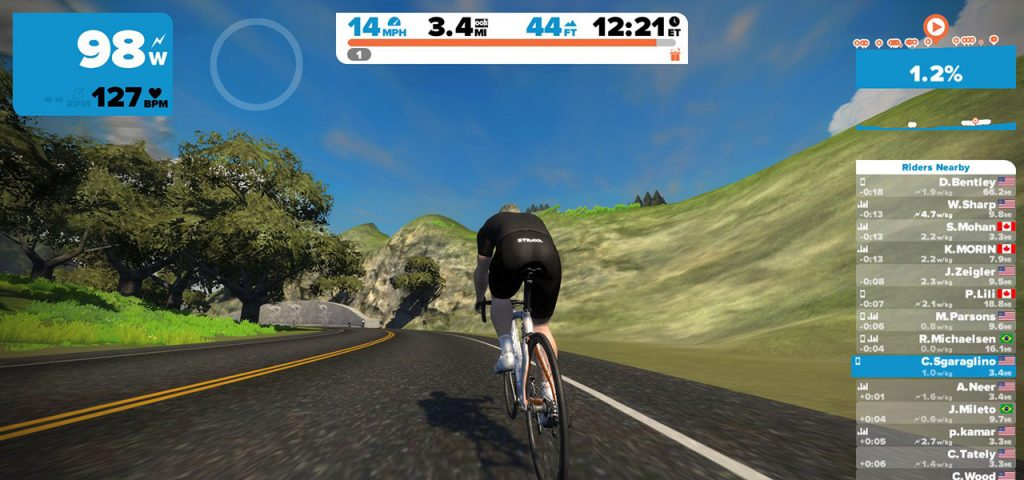 @theoutdoorlife.us's cover photo for 'Zwift – a new way of indoor cycle training.'