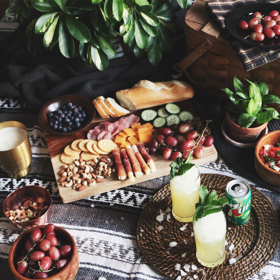 @theanastasiaco's cover photo for 'How to Host An Indoor Picnic + A $1,000 Giveaway (Closed) - The Anastasia Co.'