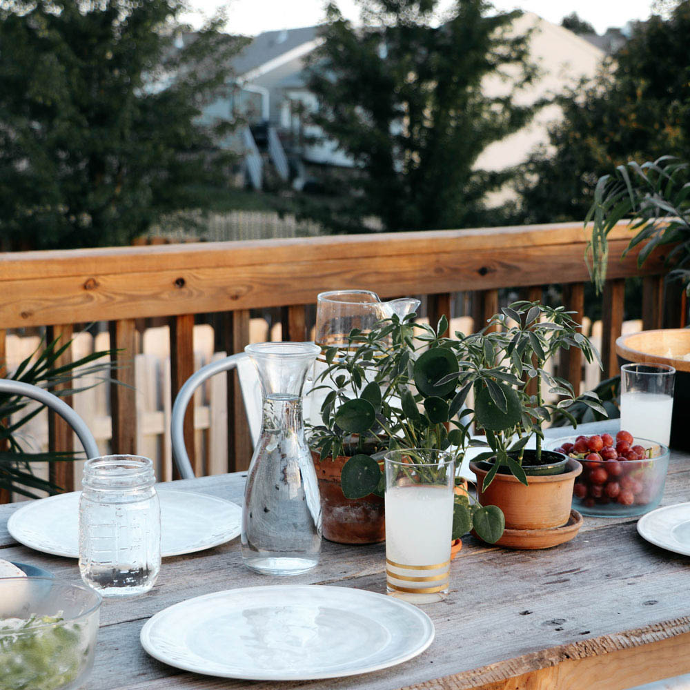 @theanastasiaco's cover photo for 'How to Stain Your Deck + Host a Taco Party in One Day - The Anastasia Co.'