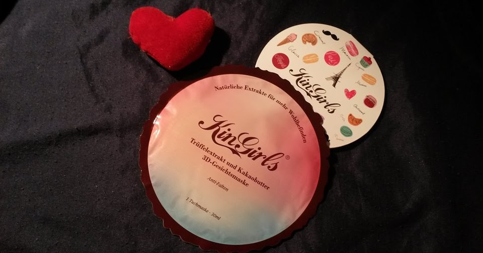 @makeupgliss's cover photo for 'Kingirls Macaron  maschera al tartufo cacao 3d'