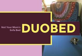 @eclecticevelyn's cover photo for 'DuoBed: Not Your Mom's Sofa Bed'