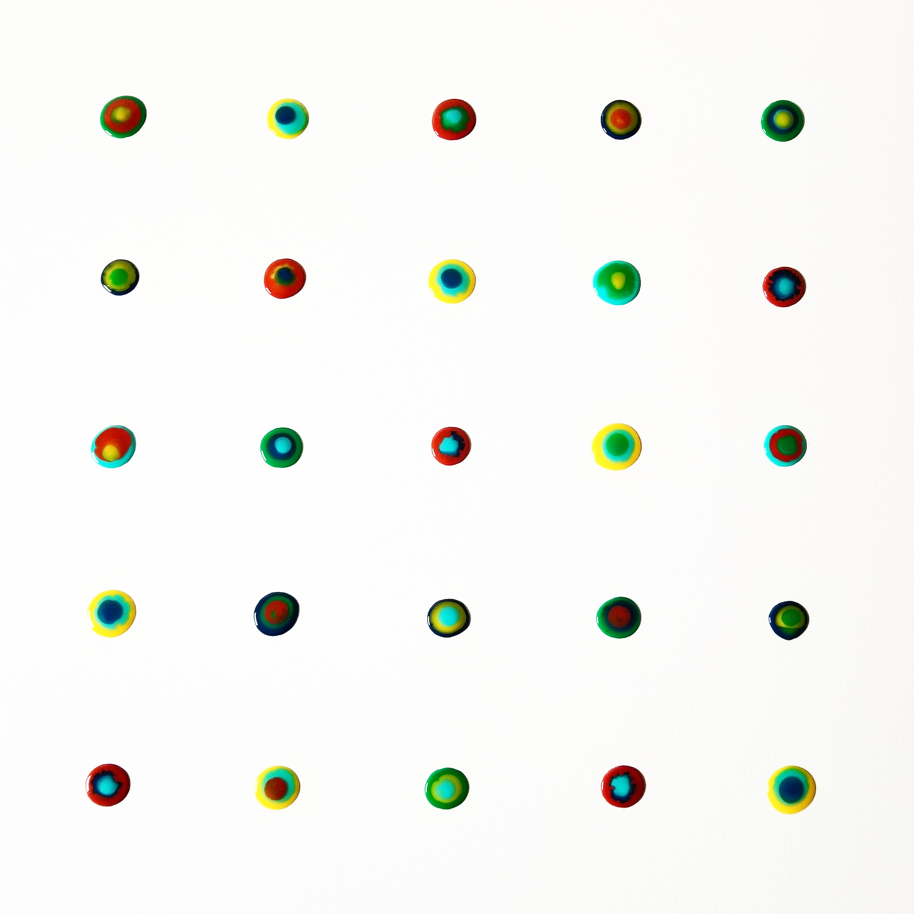 @shellyfloydart's cover photo for 'New Series! Painting Dots! | Art gallery | Shelly's Modern Art'