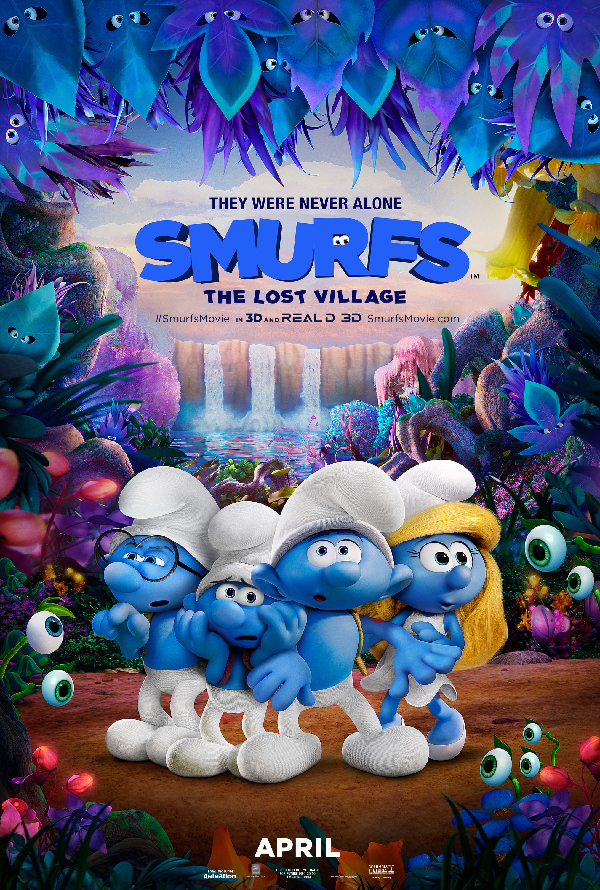 @suzysvista's cover photo for 'Smurfs: The Lost Village Movie'