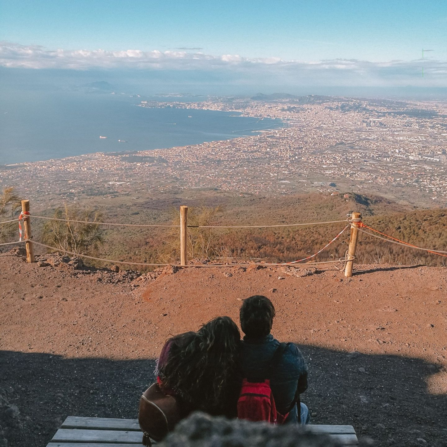 @2balticnavigators's cover photo for '#shareurexperience - Climbing Mount Vesuvius - Tranneta's Travels'