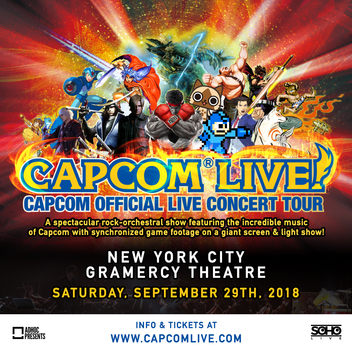 @narz's cover photo for 'Two Tickets to CAPCOM Live Concert Sept 29th In NYC Giveaway'