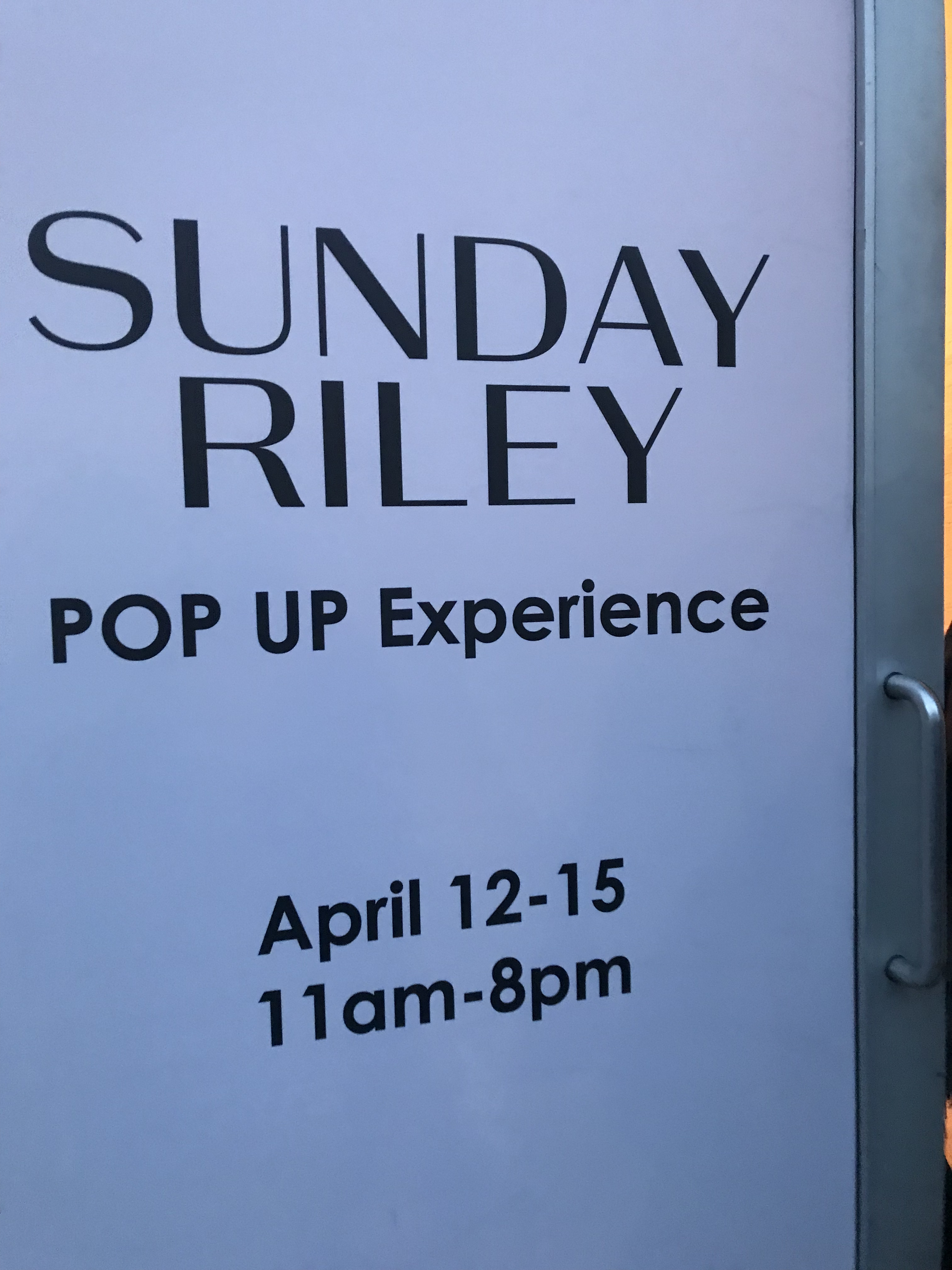 @narz's cover photo for 'Sunday Riley – The Influencer Foundation Launch Event'