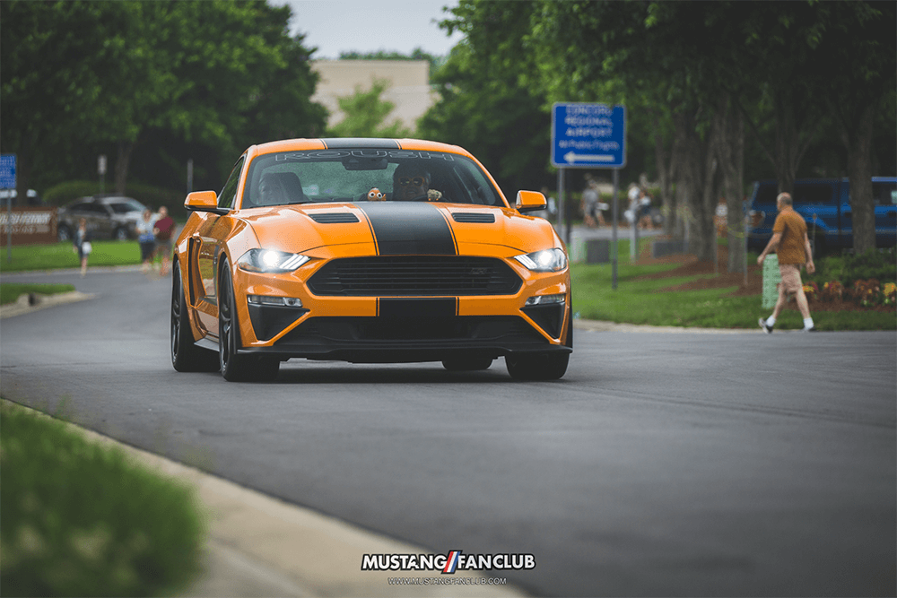 @mustangfanclub's cover photo for 'First 2018 ROUSH JackHammer produced | Mustang Fan Club'