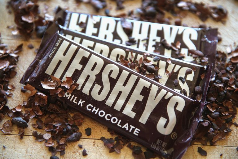 @paltrowitz's cover photo for 'The Hershey Company's John Baker On The Past, Present & Future Of Hershey's Chocolate'
