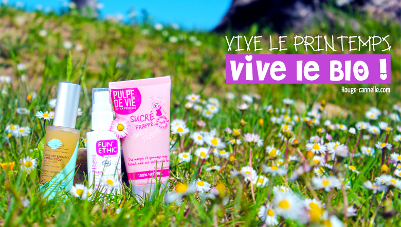 @pauline_argenson's cover photo for 'Vive le printemps, vive les cosmétiques bio ! '