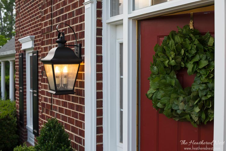@heathered_nest's cover photo for 'Outdoor Lighting DIY Update | The Heathered Nest'