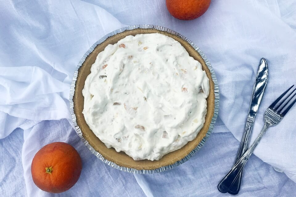 @merryabouttown's cover photo for 'No-Bake Millionaire Pie – Perfect for a Potluck!'