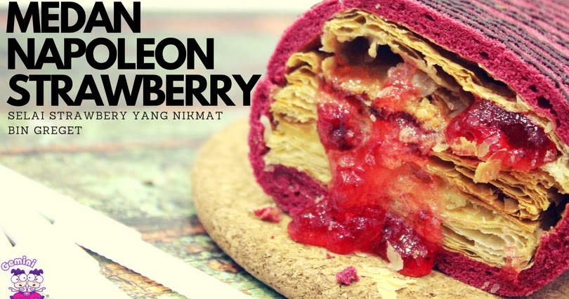 @fajar.siagian's cover photo for 'Mencicipi Medan Napoleon Strawberry'