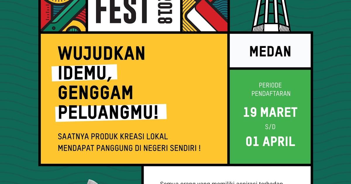 @fajar.siagian's cover photo for 'Maker Fest bersama Tokopedia Dorong Kreator Lokal  Jadi Brand Nasional yang Mendunia'