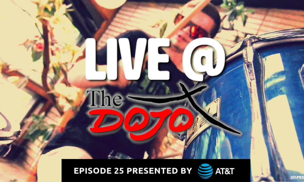 @stupiddope's cover photo for 'Watch: Live at the Dojo | NewTree | Episode 25'