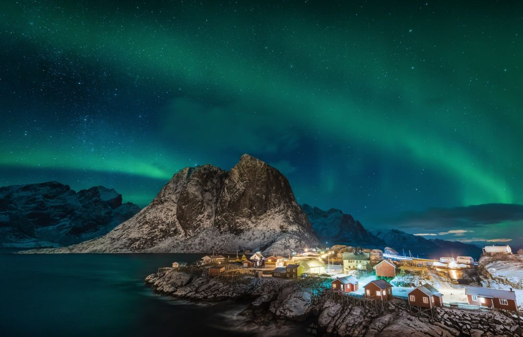 @theworldpursuit's cover photo for 'How to Check a Northern Lights Cruise Off Your Bucket List'