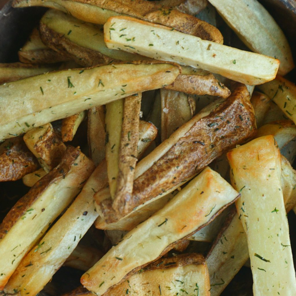 "@plantyou's cover photo for 'Crispy Oil Free ""Fry Truck"" Wedges'"