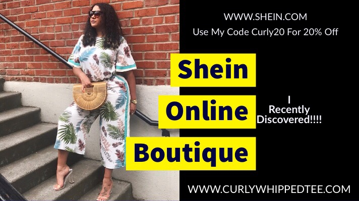 @teevaughn100's cover photo for 'Shein!!! Great Boutique For Budget Fashionistas!!! ⋆ CurlyWhippedTee'