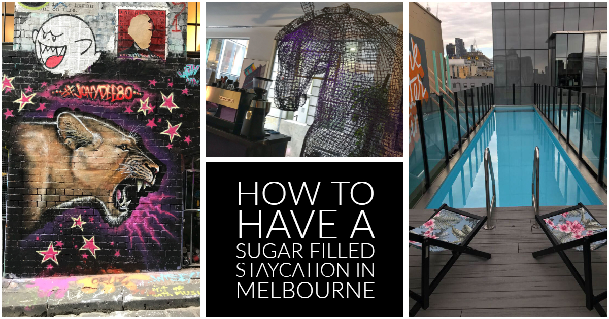 @honeybirdtravel's cover photo for 'How to have a sugar filled staycation in Melbourne'