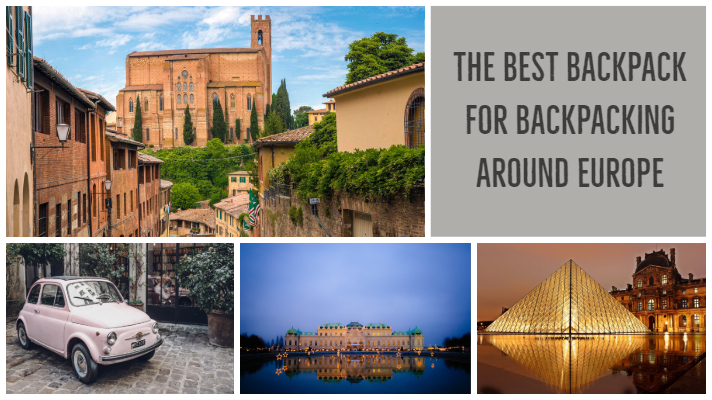 @honeybirdtravel's cover photo for 'The Best Backpack for Backpacking Around Europe'