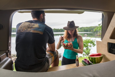 @katcarney's cover photo for 'Healthy Camp Cooking Recipe w/ El Yucateco'