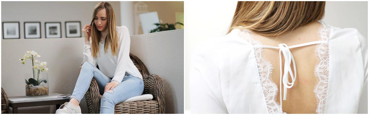 @lalecherie's cover photo for 'Weiße Blusen - Must Have im Kleiderschrank? - lauralaura.de'