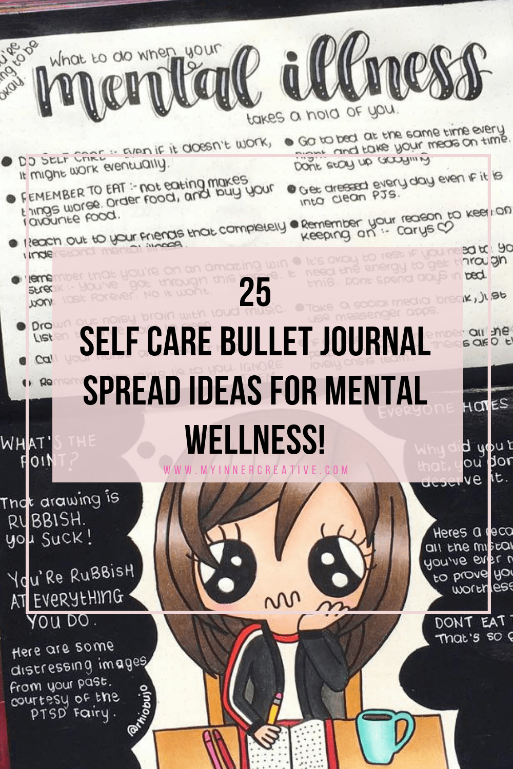 @theartofbujo's cover photo for 'Self care bullet journal ideas | My Inner Creative'