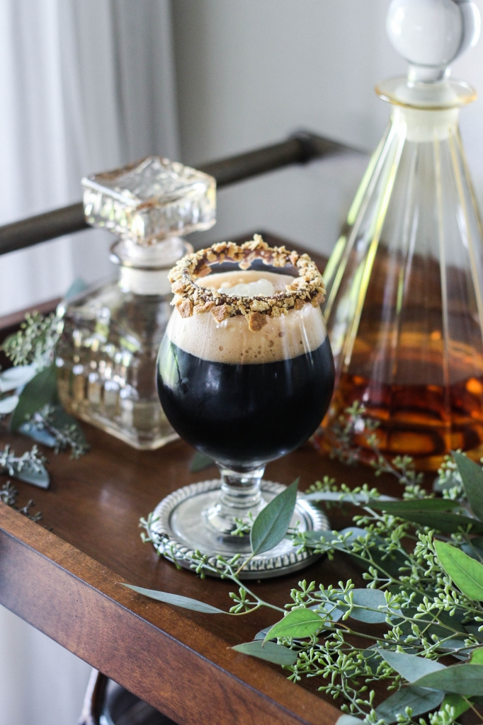 @frostpetticoat's cover photo for 'Liquor.com Fall Series: Campfire Stout Cocktail - The Frosted Petticoat'