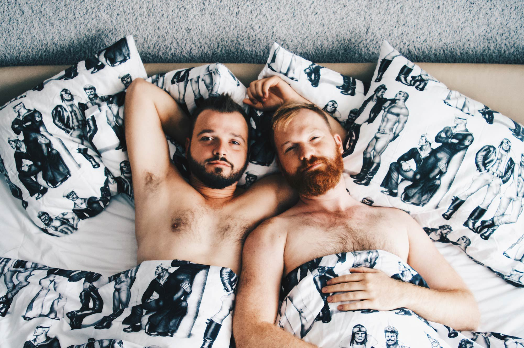 @coupleofmen's cover photo for 'Hotel of the Week: Klaus K Helsinki with Tom of Finland'