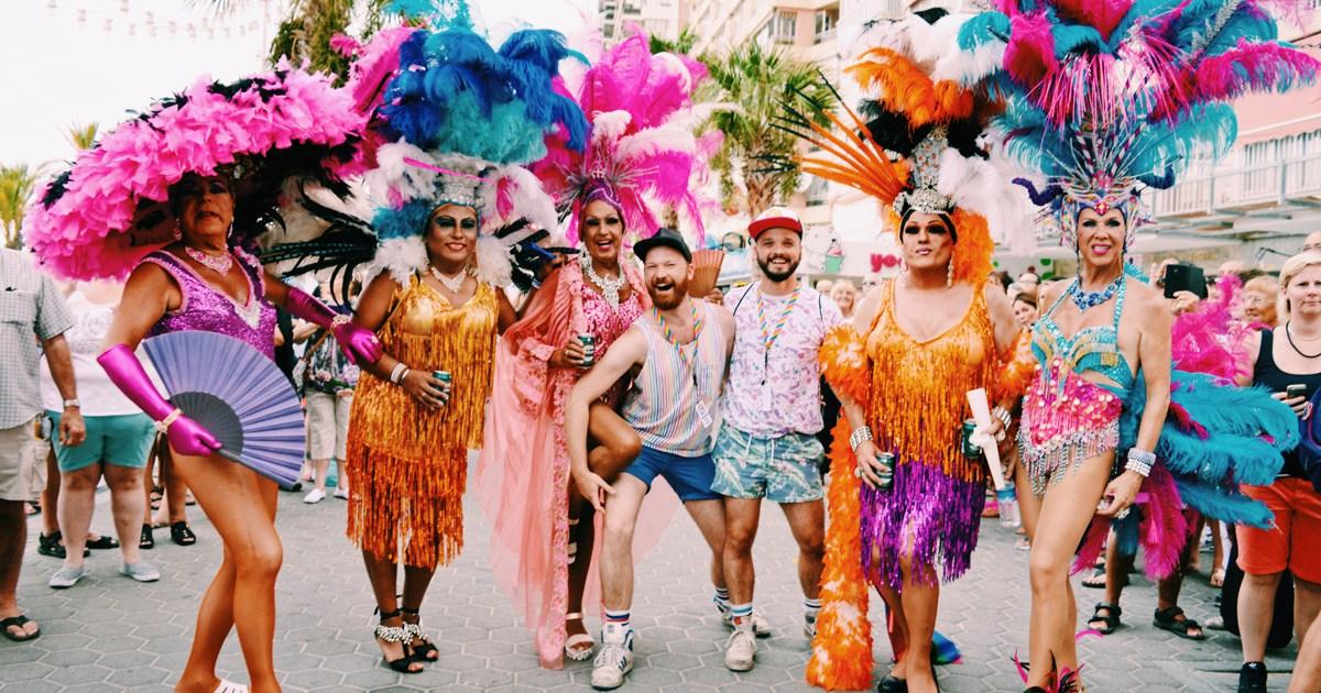 @coupleofmen's cover photo for 'Happy Gay Pride Benidorm 2018 everyone!'