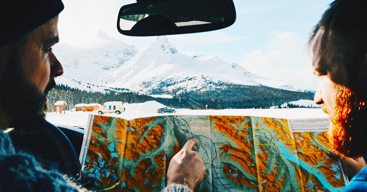 @coupleofmen's cover photo for '13 Top Highlights: Winter Road Trip Canadian Rocky Mountains'