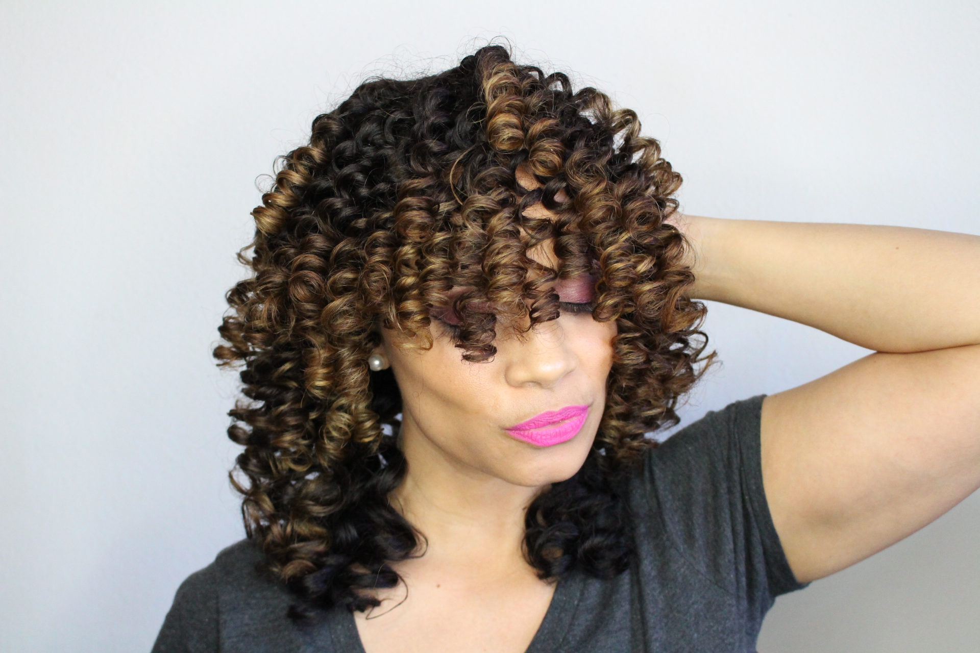 @tiffanydbrown_'s cover photo for 'Hair: Perfect Curls Using SMALL Perm Rods - Tiffany D. Brown'