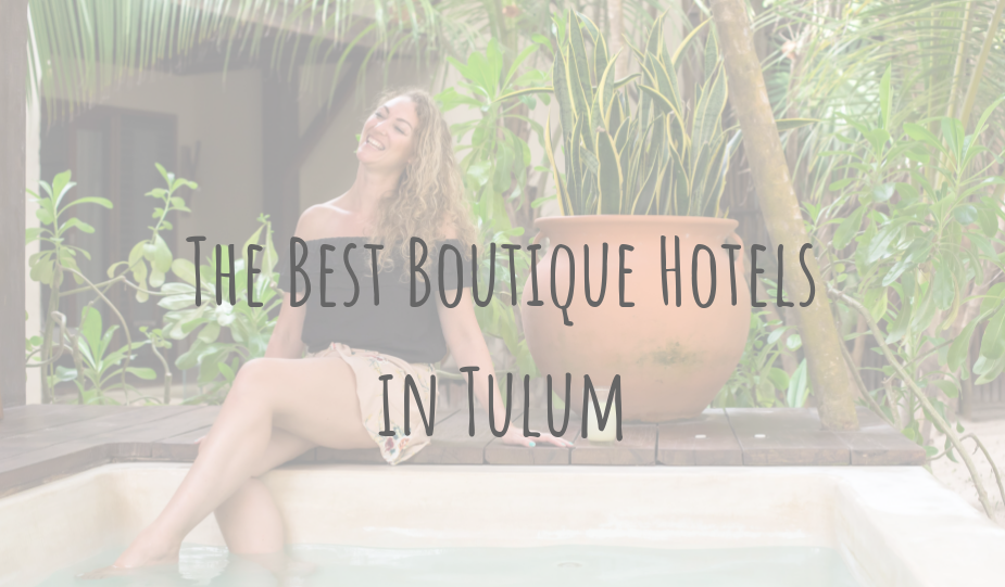 @clairesitchyfeet's cover photo for 'Adventures in Mexico | The Best Boutique Hotels in Tulum'