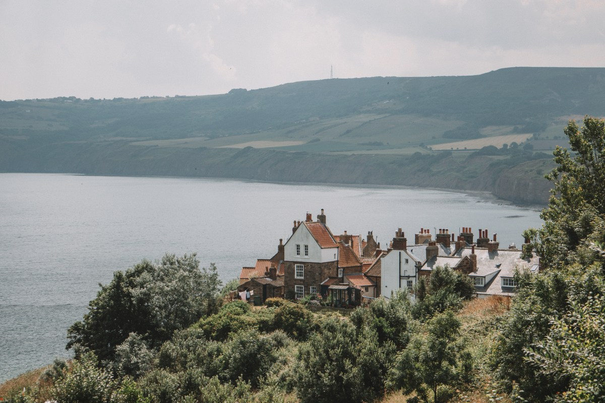 @postcardsbyhannah's cover photo for 'Robin Hood's Bay with Premier Inn'