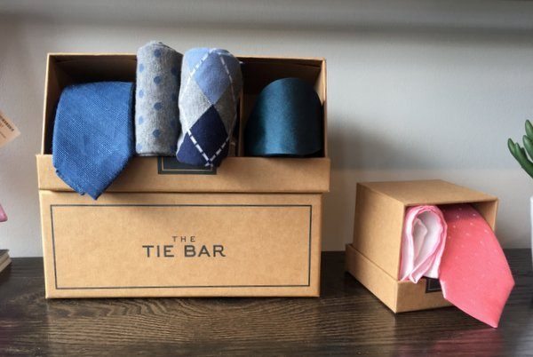 @modernfellows's cover photo for 'Inside The Tie Bar Store in Washington, DC – Modern Fellows'