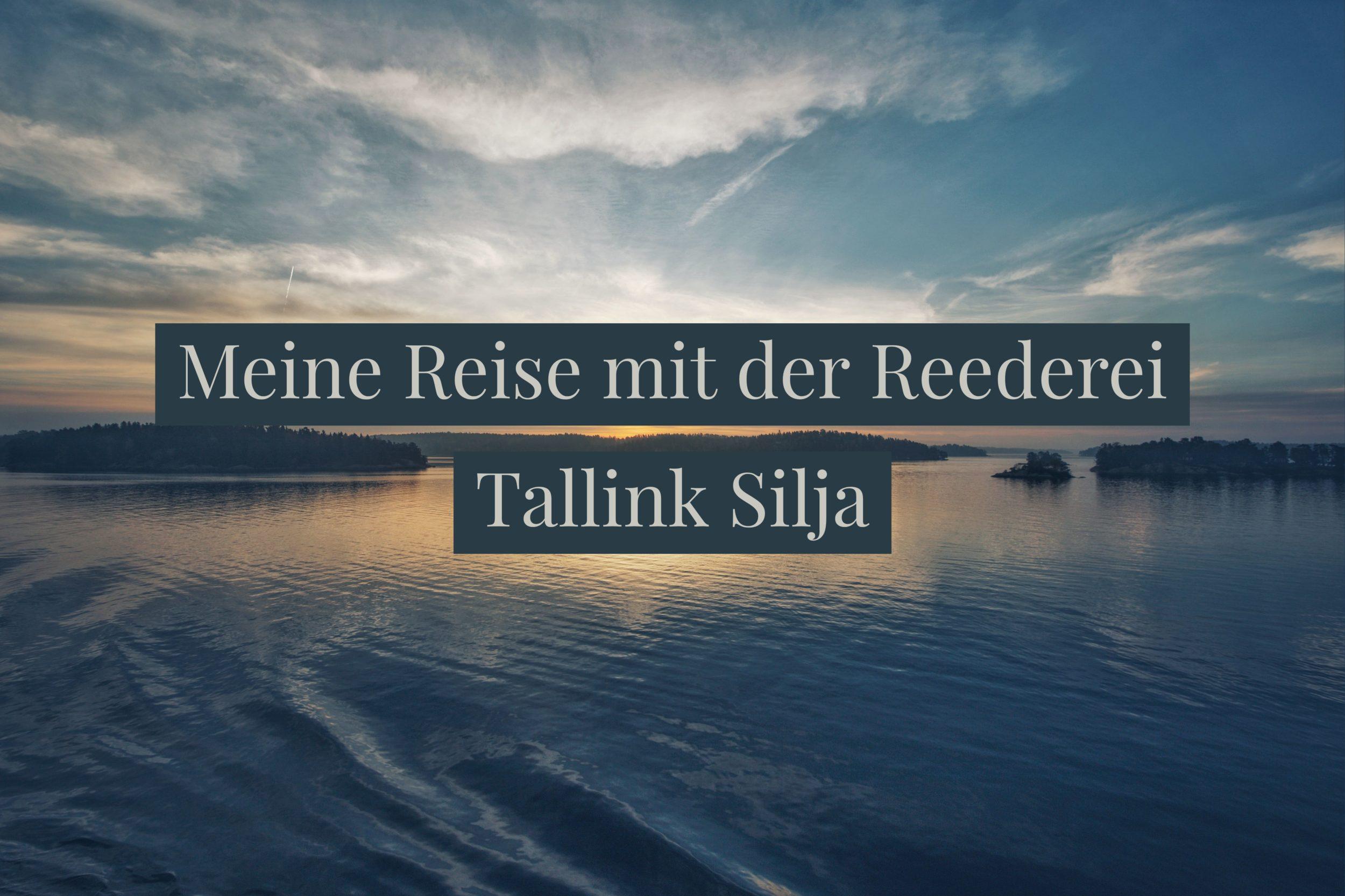 @berlinartdesign's cover photo for 'Meine Reise mit der Reederei Tallink Silja - Berlinart Design'