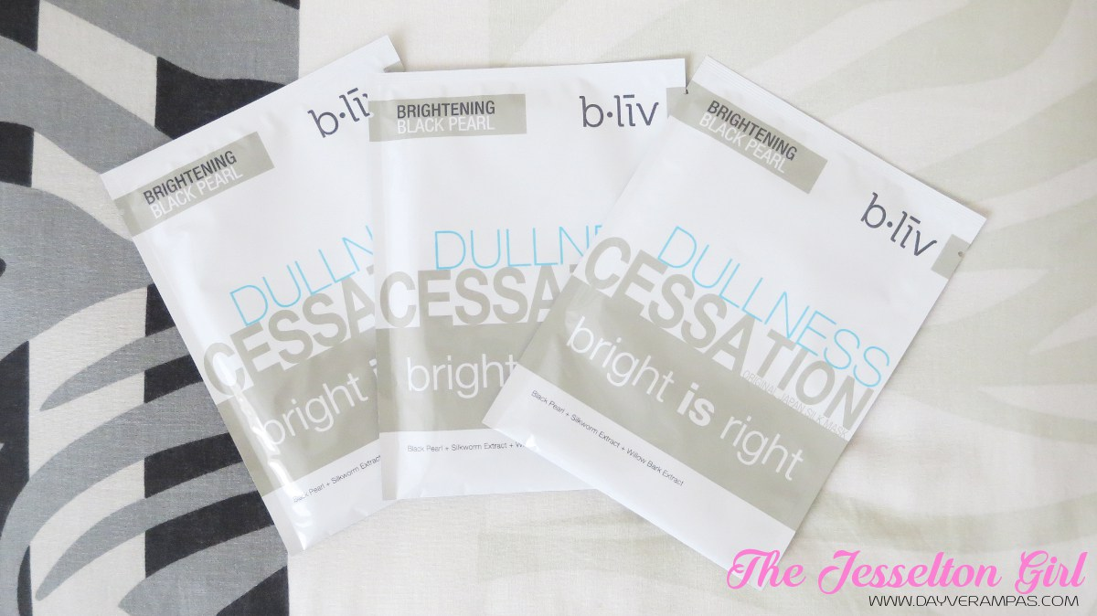 @dayverampas's cover photo for 'Beauty: b.liv Dullness Cessation Bright is Right Face Mask'