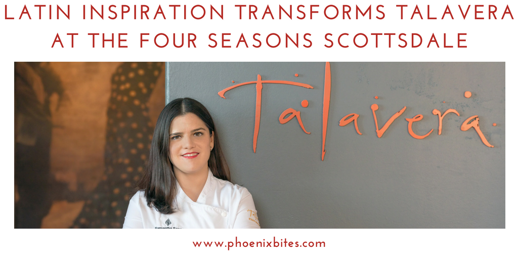 @phoenixbites's cover photo for 'Latin inspiration transforms Talavera at the Four Seasons Scottsdale - PhoenixBites'