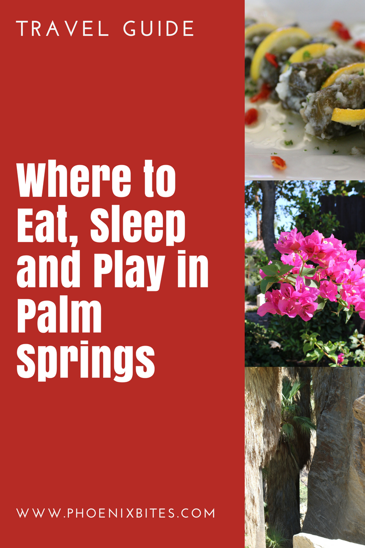 @phoenixbites's cover photo for 'Get Out of Town | Palm Springs Travel Guide - PhoenixBites'