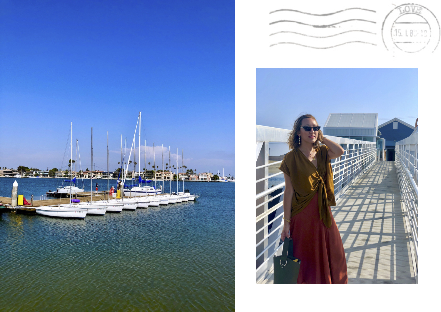 @savvynista's cover photo for 'Postcards from a Day in Long Beach - Savvynista'