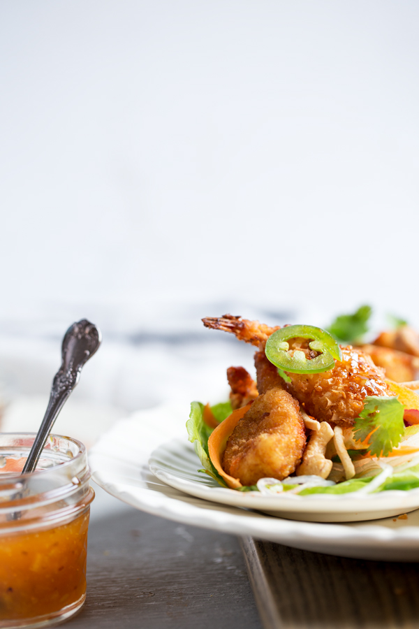 @onearmedmama_tristin's cover photo for 'Asian Shrimp Lettuce Wraps DIY Easy Meal Idea'