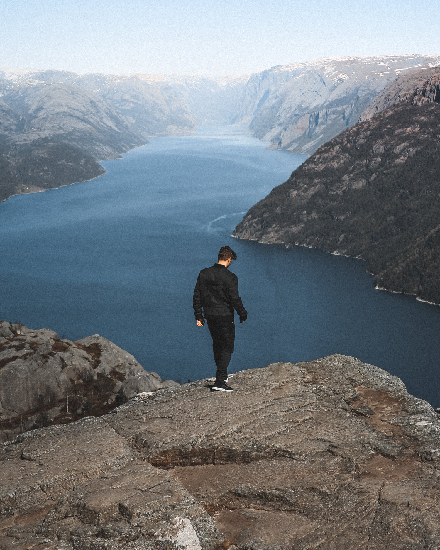 @mads's cover photo for 'Martin Garrix photoshoot by Mads Nordsveen at Preikestolen, Norway'