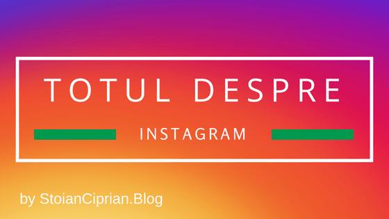 @stoianciprian's cover photo for 'Totul despre Instagram - trucuri si aplicatii pentru Instagram | StoianCiprian.Blog'