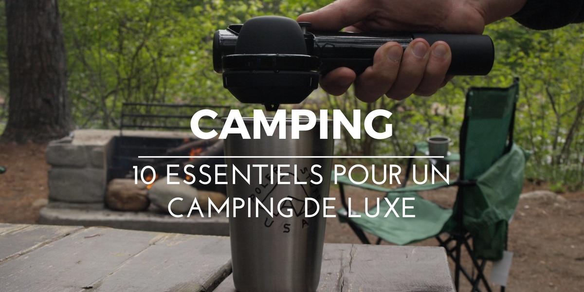 @la_cavaleuse's cover photo for '10 essentiels pour un séjour de camping de luxe | La Cavaleuse'