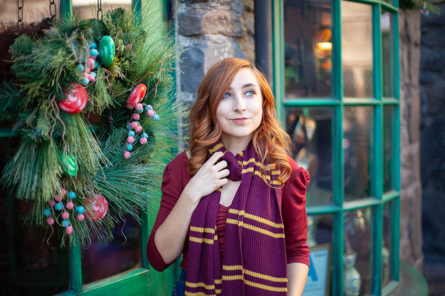 @thehealthymouse's cover photo for 'Christmas in the Wizarding World of Harry Potter is the Most Magical Holiday Experience! - The Healthy Mouse'