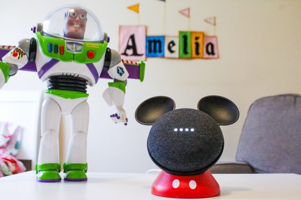 @thehealthymouse's cover photo for 'Disney Magic With Google Home and OtterBox Exclusive Mickey Mouse Stand'