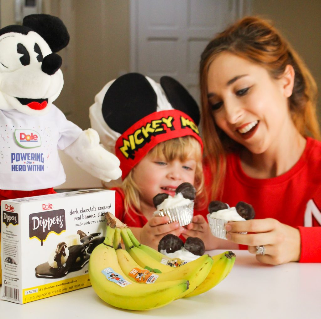 @thehealthymouse's cover photo for 'Enjoying Nutritious Eating With Mickey Mouse - inspired recipes from Dole! - The Healthy Mouse'
