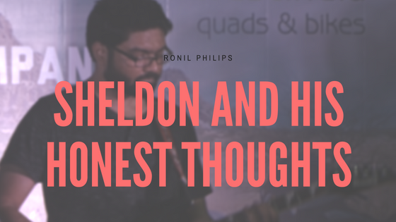 @ronil.philips's cover photo for 'Sheldon Ferns and his brutally honest thoughts. | Ronil Philips | The Silverback FAM |'