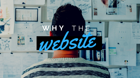 @ronil.philips's cover photo for 'Why the Website? | Ronil Philips | The Silverback FAM |'