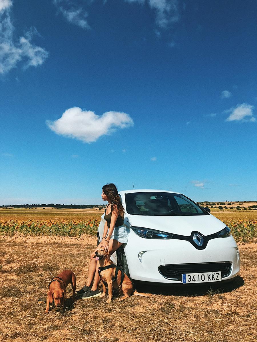 @soyvegana_jenny's cover photo for 'Nuestro viaje por la naturaleza de Cuenca & review del coche eléctrico Renault Zoe | Una Vegana Por El Mundo | Blog vegano'
